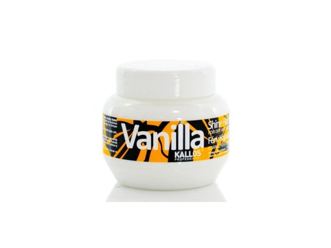 Kallos Vanilla Shine Hair Mask 275 ml Maska pro oživení suchých vlasů