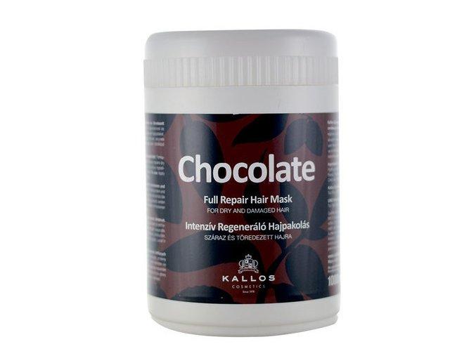 Kallos Chocolate Full Repair Mask 1000 ml Čokoládová maska pro suché a lámavé vlasy