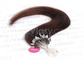 Asijské vlasy na metodu micro-ring odstín 2