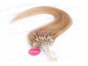 Asijské vlasy na metodu micro-ring odstín 16
