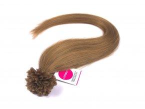 Asijské vlasy na metodu keratin odstín 12 po 20 ks