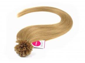 Asijské vlasy na metodu keratin odstín 16 po 20 ks