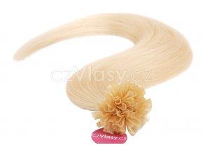 Asijské vlasy na metodu keratin odstín 613 po 20 ks