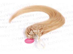 Asijské vlasy na metodu micro-ring odstín 27 po 20 ks