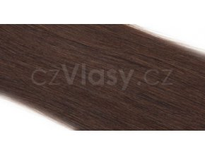 Asijské vlasy zakončené do trubičky odstín 2