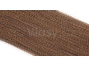 Asijské vlasy na metodu TAPEX odstín 8