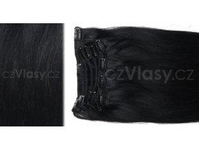 Clip in vlasy odstín 1