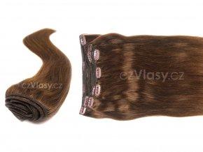 Clip in vlasy odstín 6