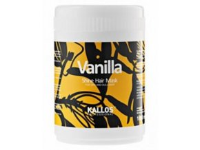 Kallos Vanilla Shine Hair Mask 1000 ml Maska pro oživení suchých vlasů