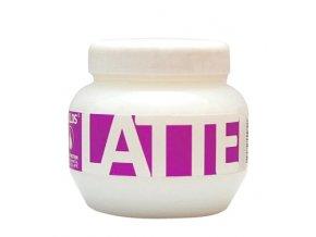 Kallos Latte Hair Mask 800 ml Maska pro chemicky poškozené vlasy