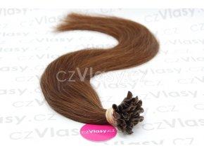 Indické vlasy na metodu keratin odstín 4