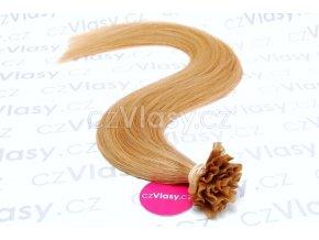 Indické vlasy na metodu keratin odstín 27