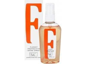 Kallos Flossy Protective Shine Spray 80 ml Ochranný lesk na vlasy