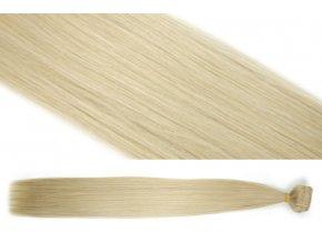 Syntetická clip in sada vlasů 55 cm, 120 gramů, odstín 20/613