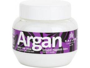 Kallos Argan Colour Hair Mask 275 ml Maska pro barvené vlasy