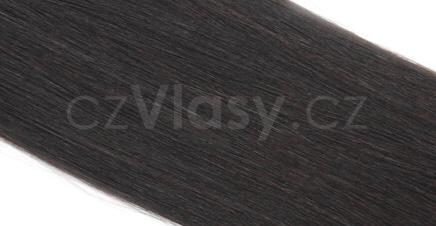 Asijské vlasy na metodu TAPEX odstín 1B Délka  40 cm decdd5b1b2