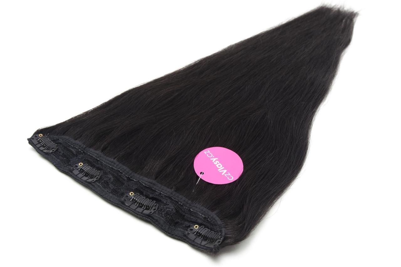 Zhušťující clip in pás odstín 1B Délka pásu: 60 cm, Hmotnost: 55-60 gramů