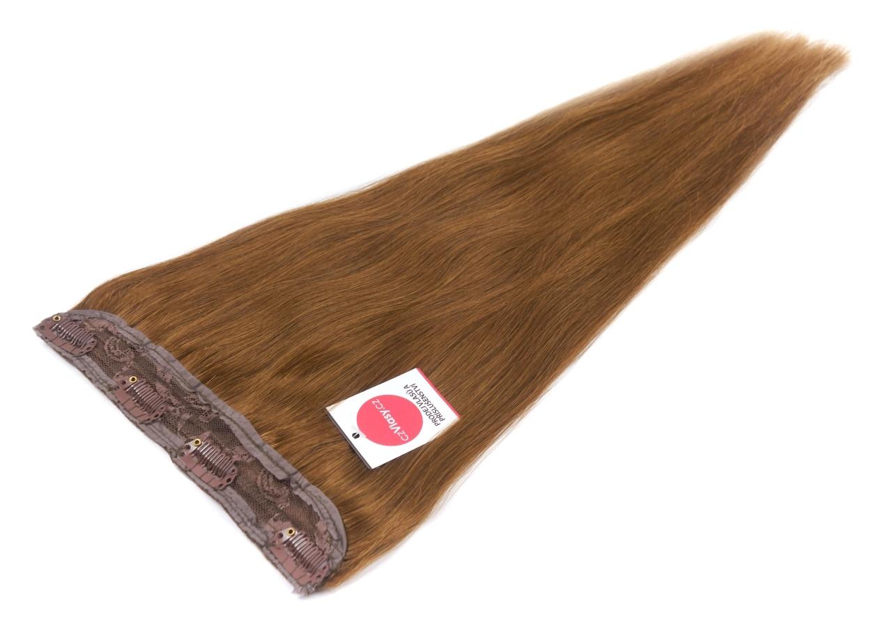 Zhušťující clip in pás odstín 6 Délka pásu: 40 cm, Hmotnost: 50-55 gramů
