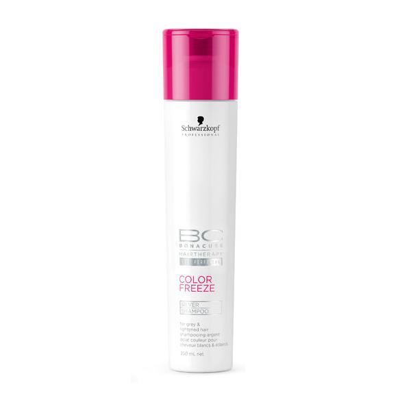 Schwarzkopf Professional BC Color Freeze Silver Shampoo - Šampon se stříbrnými reflexy 250 ml