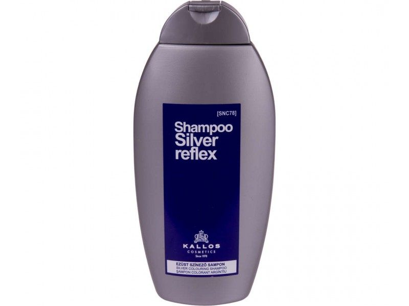 Kallos Silver Reflex Shampoo - Stříbrný šampón na vlasy 350 ml