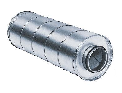 Tlumiče hluku MAA pro kruhové potrubí