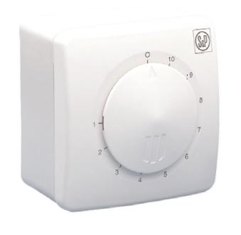 Regulátory otáček ventilátorů REB