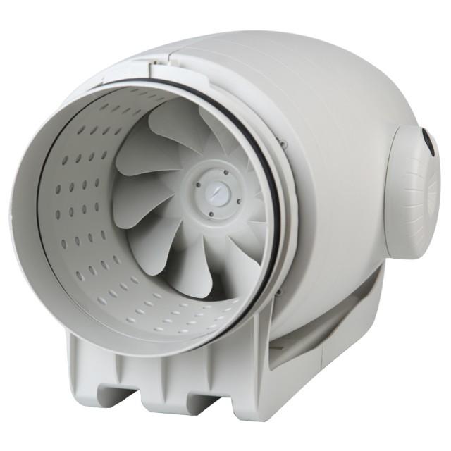 Ventilátory do kruhového potrubí