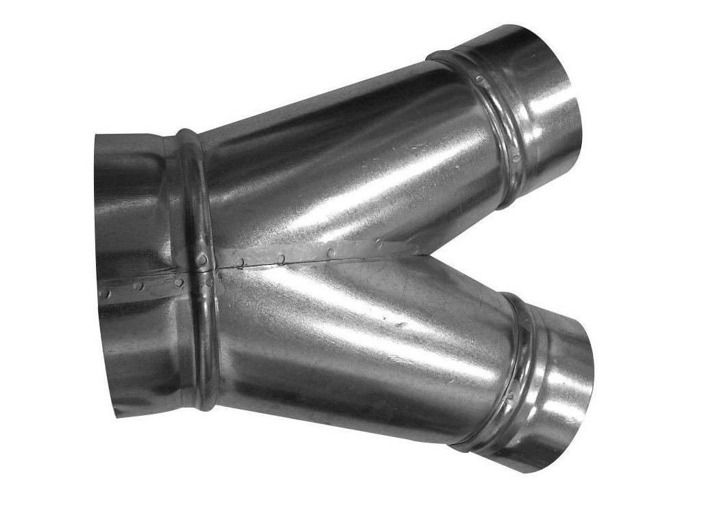 KKS 45° 080/080 - kalhotový kus 45°