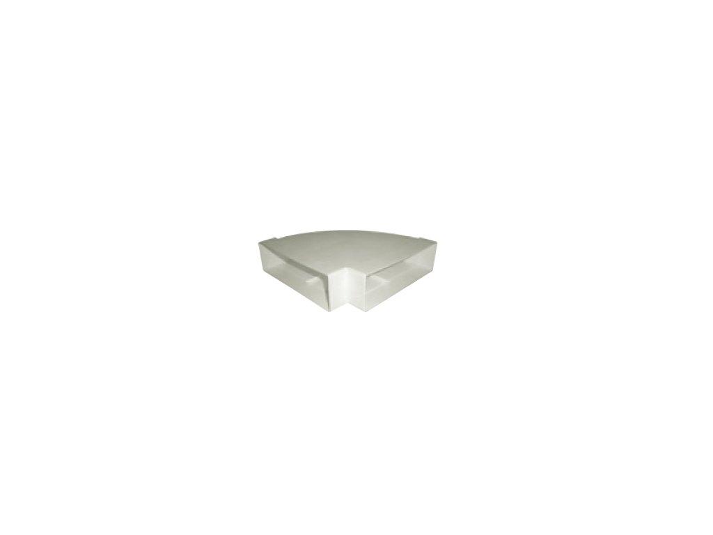 Oblouk horizontální 45° UP-OHP-110x54/45