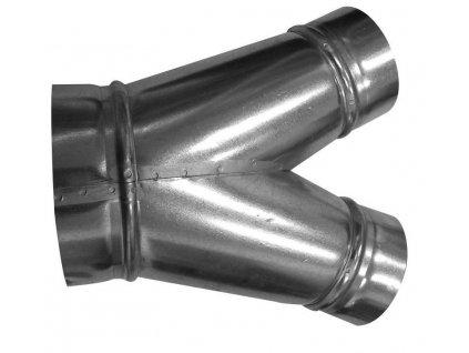 KKS 45° 100/080 - kalhotový kus 45°