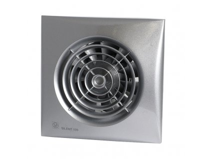 ventilator silent 100 silver