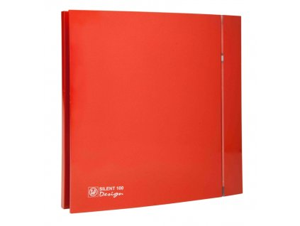 ventilatory Silent Design 100 red