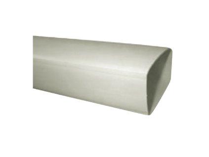 Hranaté plastové vzduchotechnické potrubí UP-PKP-110x54/1500