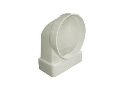 Přechod na kruhové potrubí vertikální - UP-TVSP-110x54-M