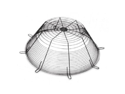 Ochranná mřížka ventilátoru DEF 1250 D