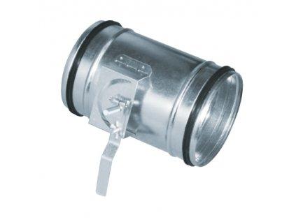 Škrtící klapka s těsněním MSKG 080