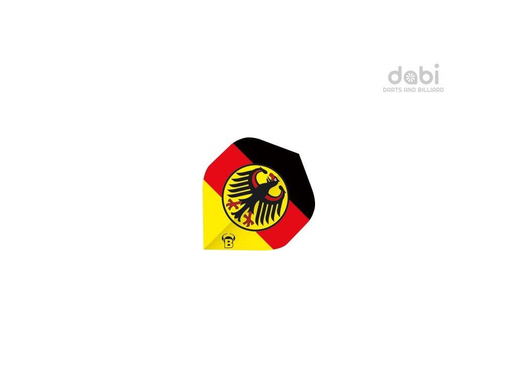 Letky Bulls Motex Německá vlajka 75 Micron
