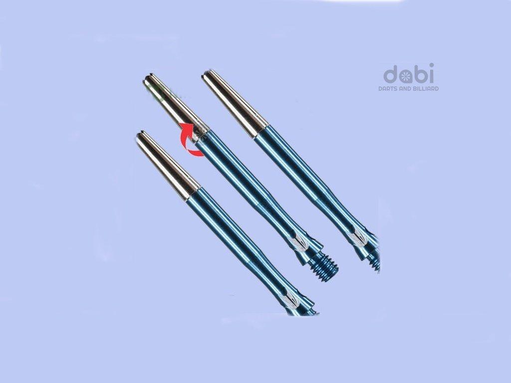 Násadky Target Top spin S line Blue Midi