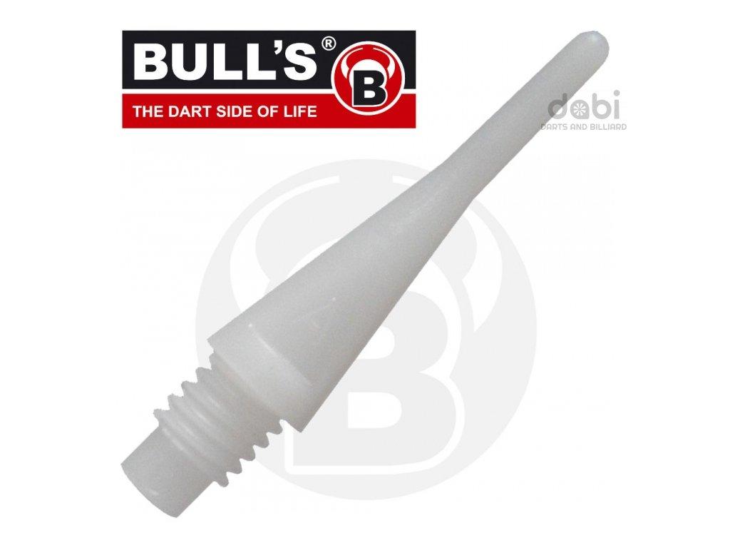 Hroty Bull's Axx short bílé 1000 ks
