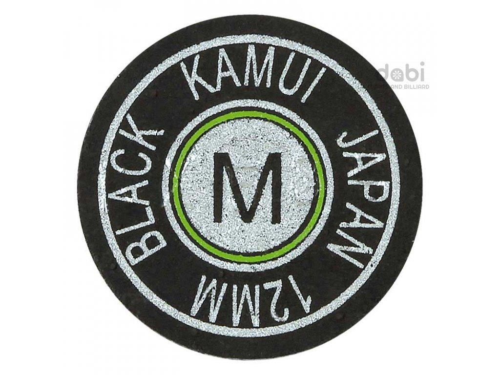 Kůže na tágo Kamui Black Original Medium 12 mm
