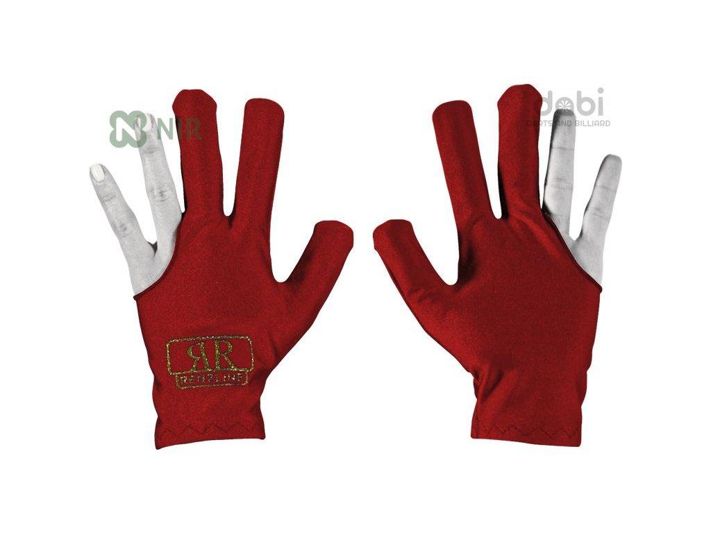 Kulečníková rukavice Renzline Red - levá