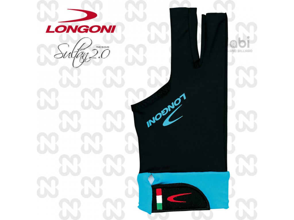 Kulečníková rukavice Longoni SULTAN 2 - levá L