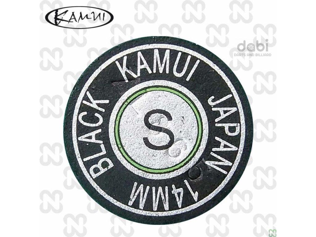 Kůže na tágo Kamui Black Original Soft 14 mm