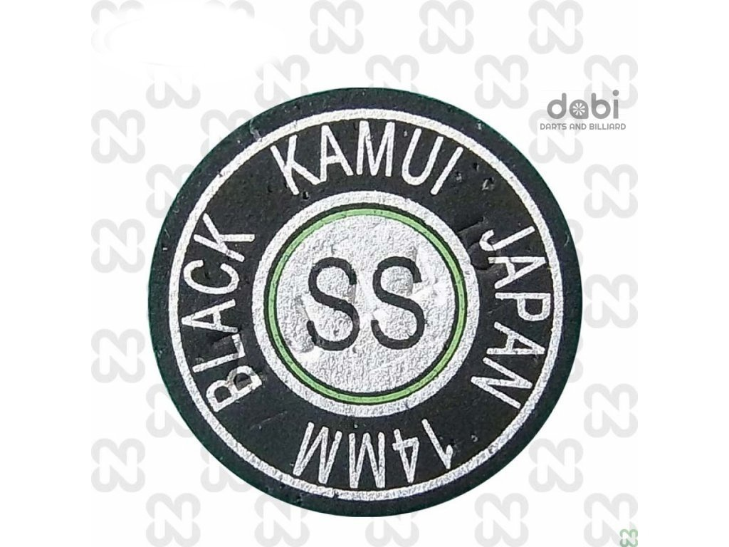 Kůže na tágo Kamui Black Original Super Soft 14 mm