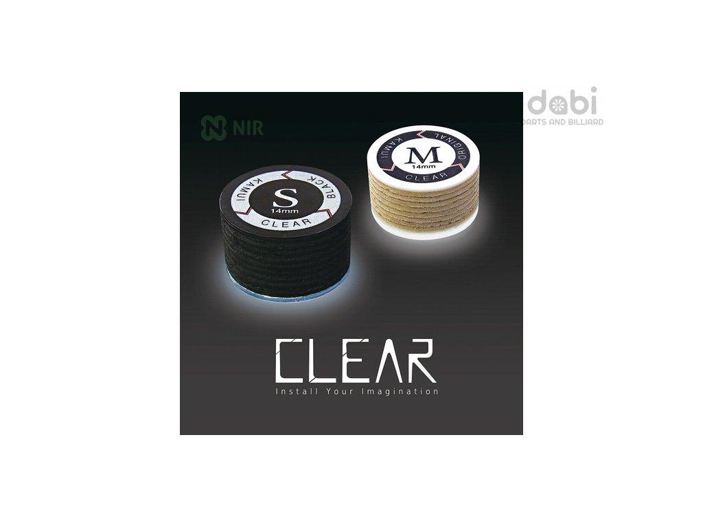 Kůže na tágo Kamui Black Clear Original M 14 mm