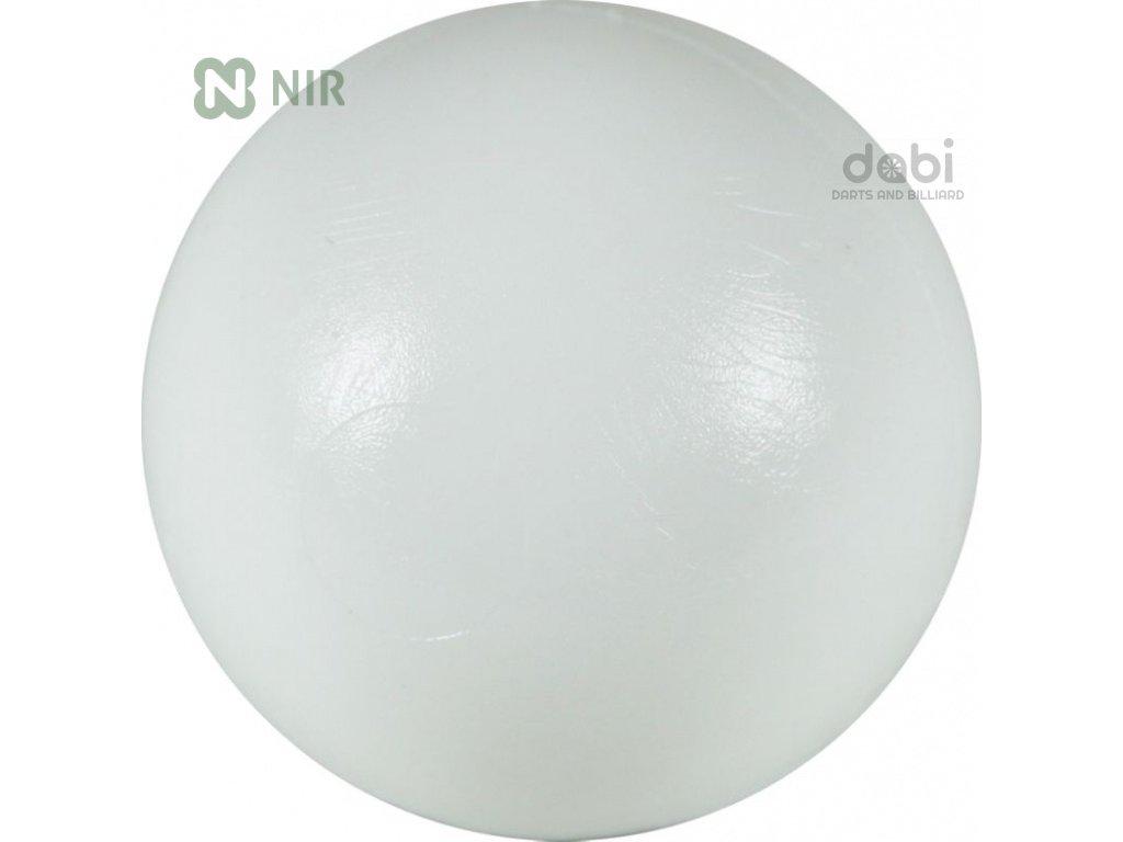 Míček stolní fotbal Antiskok bílý 1 ks