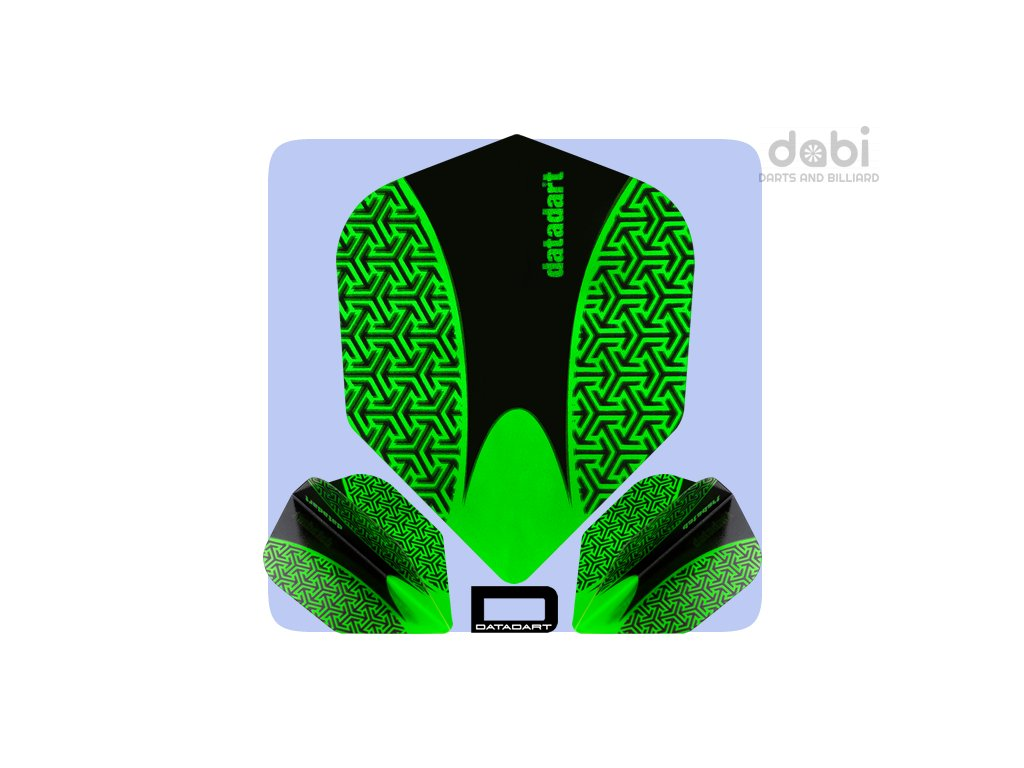 datadart dart flights 15zro std green