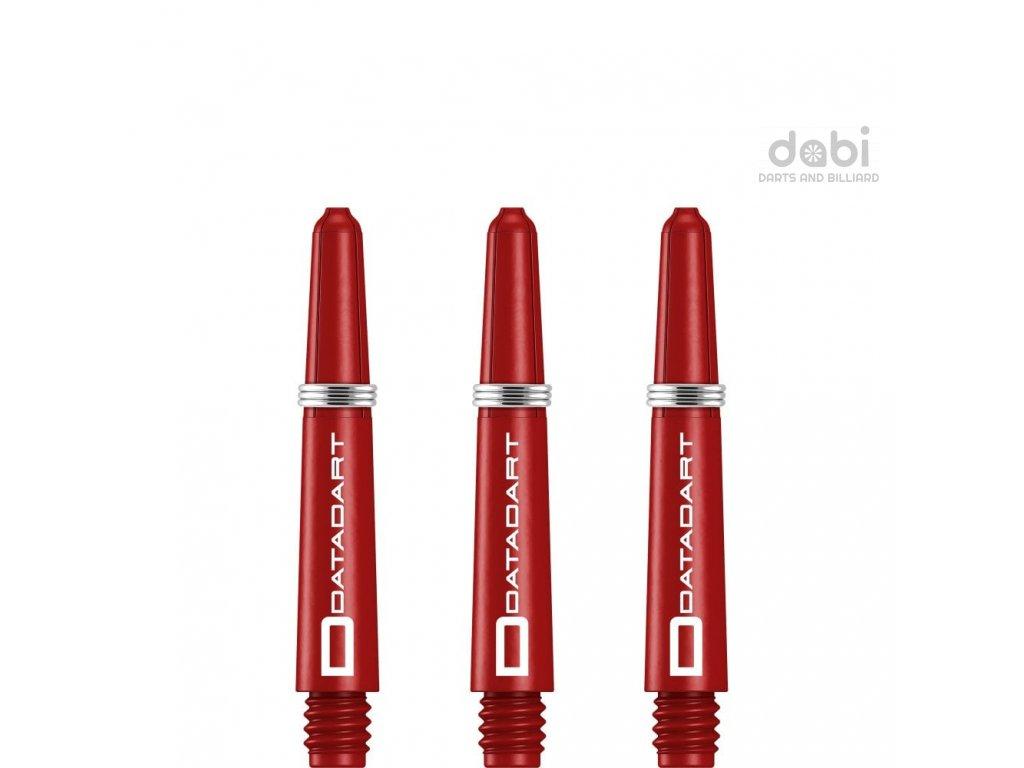 Násadky Datadart Signature Nylon Red Short