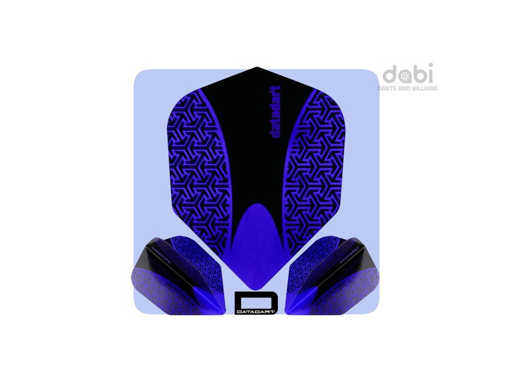 datadart dart flights 15zro std blue