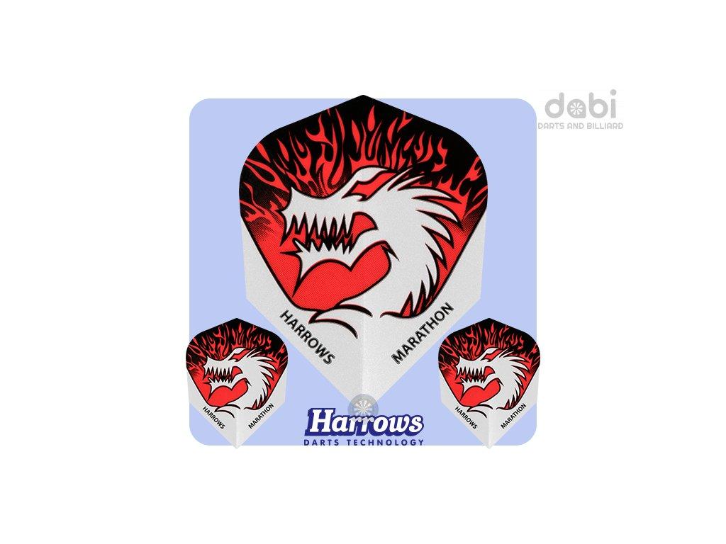 harrows marathon dart flights 1529